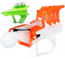Снежкобластер тройной стреляющий снегом