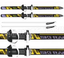 """Лыжи подростковые """"New Ski Race""""150/110 см с палками и креплениями"""