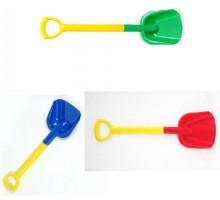 Лопата детская с ручкой пластик 66 см