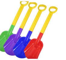 Лопата детская с ручкой пластик 53 см