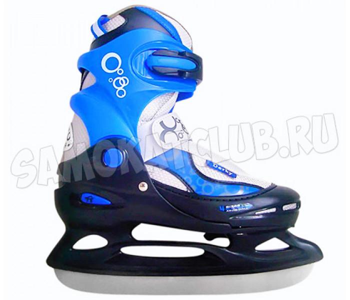 Коньки ледовые Tech Team DERBY BOY синие (29-32)