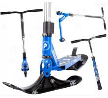 Plank CYCLE самокат-снегокат 2020 (синий)