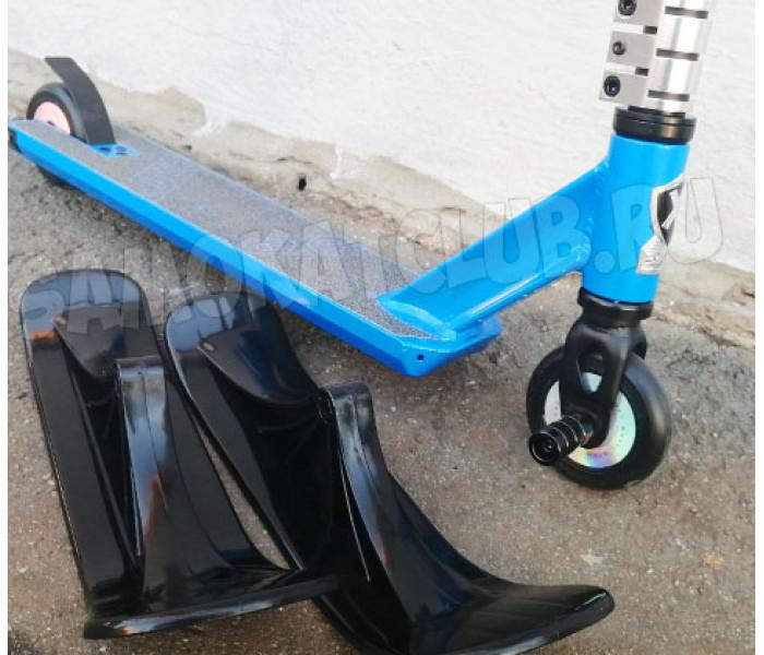 Трюковой самокат с лыжами и колесами Explore Leader