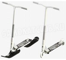 Plank CYCLE самокат-снегокат 2020 (белый)