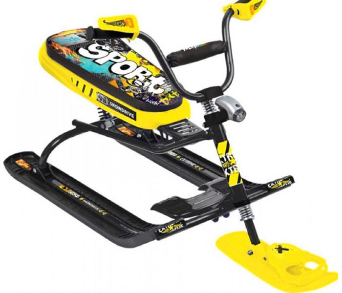NIKA «SNOWDRIVE» желтый Граффити с фонариком для детей от 5 лет
