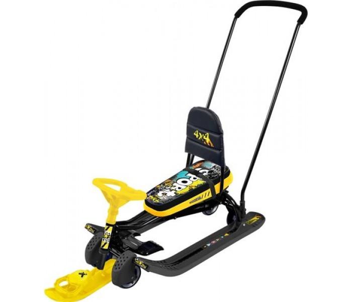 Снегокат детский Тимка Спорт 6 ТС6 (желтый)