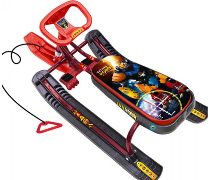 Снегокат детский Ника Тимка Спорт Робот для детей и подростков
