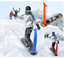 Снежный самокат Шустрик Граффити 2019