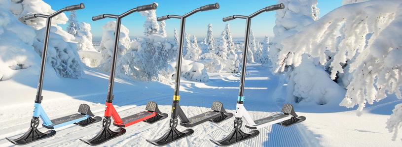 На лыжах!